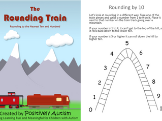 The Rounding Train: Rounding to the Nearest Ten and Hundred