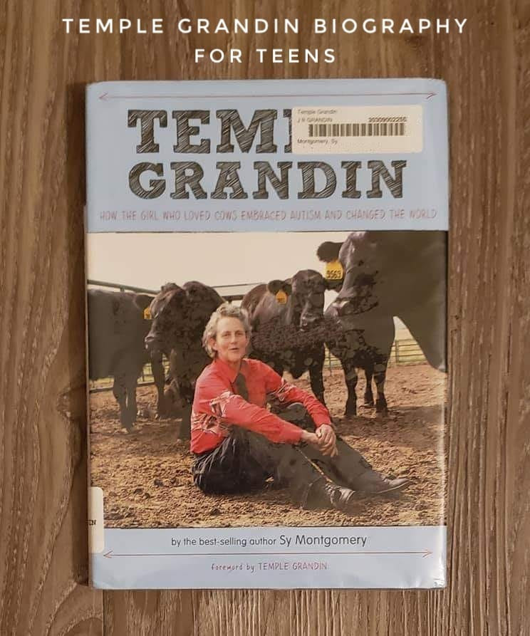 "Cover of ""Temple Grandin: How the Girl Who Loved Cows Embraced Autism and Changed the World"""