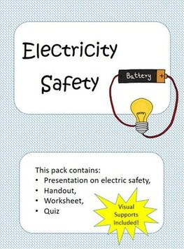 Cover Image of Electricity Safety Activities