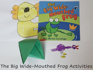 "Activities for ""The Big Wide-Mouthed Frog"" (Or Other Frog Books)"