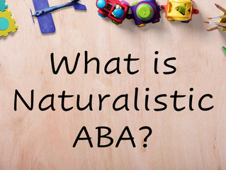 What is Naturalistic ABA?