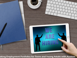 Employment Portfolios for Teens and Young Adults with Autism