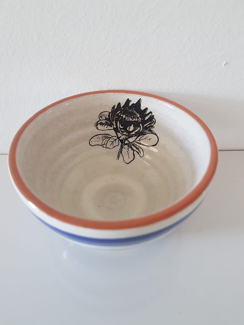 SMALL STRIPY DIP BOWL 90mm x 50mm