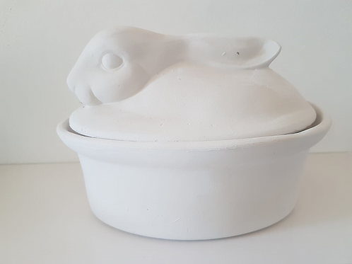 SAREL / SAARTJIE CHEESE OR BUTTER BOWL 130mm x 200mm