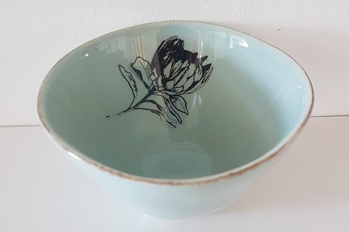 SEA GREEN SMALL SNACK BOWL 110mm x 60mm