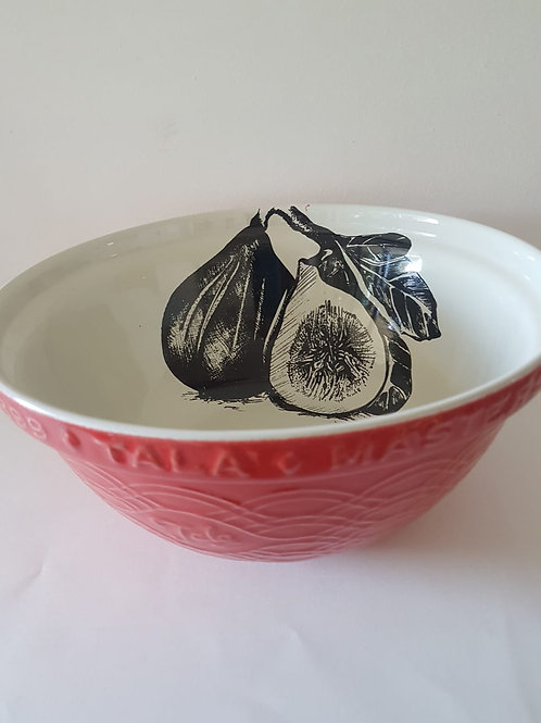 HUGE RED MIXING BOWL 140mm x 300mm