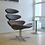 Thumbnail: EJ Corona Leather Chair