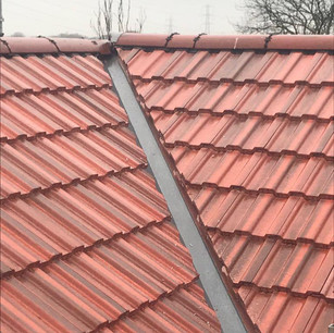Red tiled roof with valleys included in the price near me