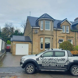 Roof replacement services near Glasgow