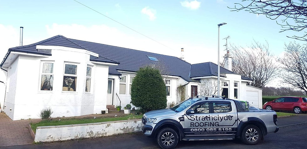 Roof replacement services in Glasgow
