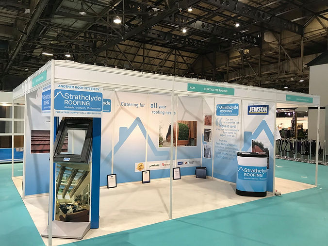Scottish Home improvement event for roofing companies in Glasgow