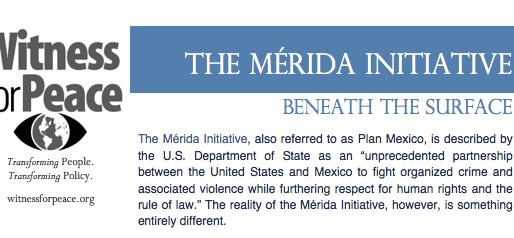 The Mérida Initiative: Beneath the Surface