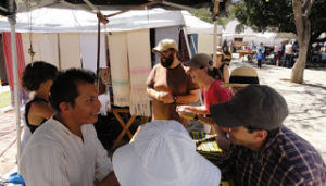 The Pochote organic market provides a place for campesinos and local producers to sell their goods. (photo: Eric Nelson)