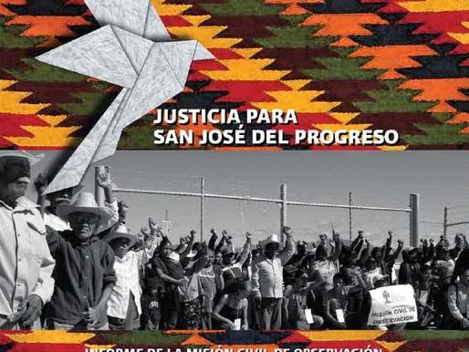 La Defensa del Territorio: San José del Progreso