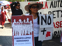 Live from Oaxaca:  Mass Mobilization against the Drug War