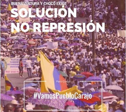 WFP Urgent Action in Buenaventura, Colombia / Acción Urgente en Buenaventura, Colombia