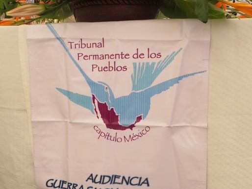 Tribunal Permanente de los Pueblos, Capítulo México: Audiencia sobre la Guerra Sucia y la Impunidad
