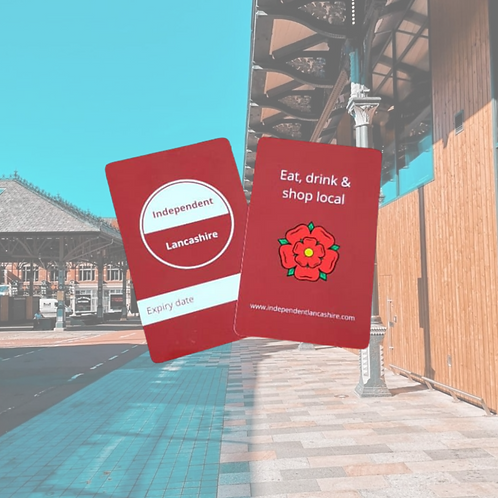 2 x Independent Lancashire Cards (valid for 12 months)