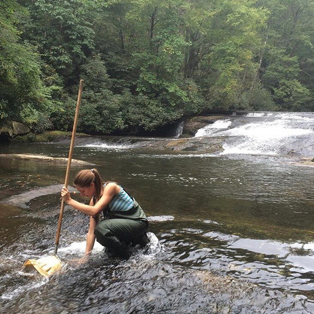 Kelli Park shares her enthusiasm for freshwater ecology