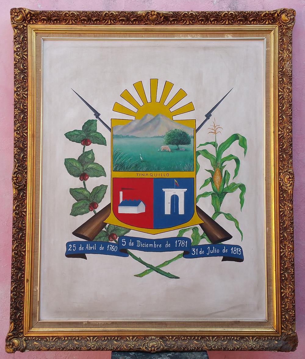 Escudo de la ciudad de Tinaquillo, original. 1993