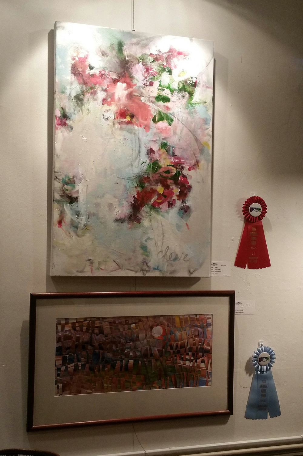 """""""Laurel"""" by Cherie Wilson, and """"The moon rises"""" by Marie Spaeder Haas"""