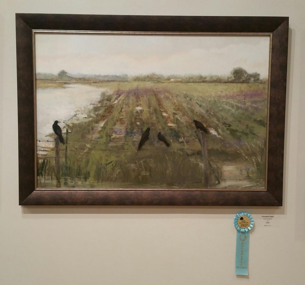 Fooded Field by Donna Nyzio. Beaufort, NC.