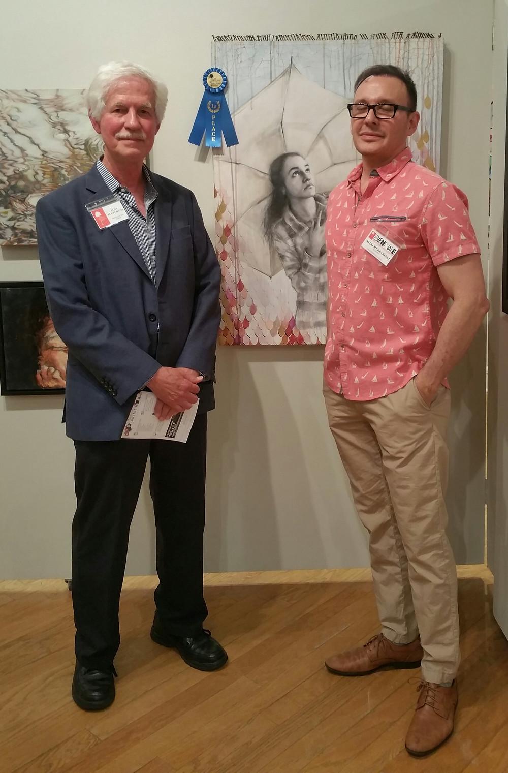 Alan Flattmann 26th biennale national juried exhibition Hilton Head Island SC.