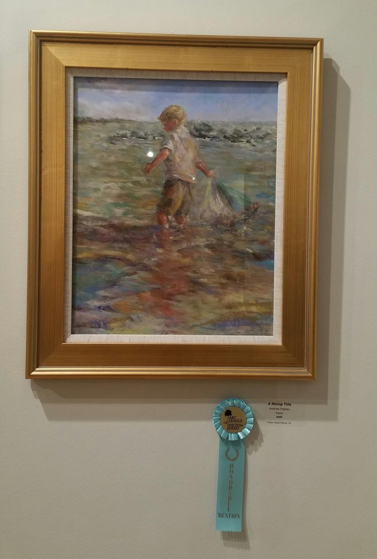 A Rising Tide by Andrea Pejeau. Hilton Head Island, South Carolina.