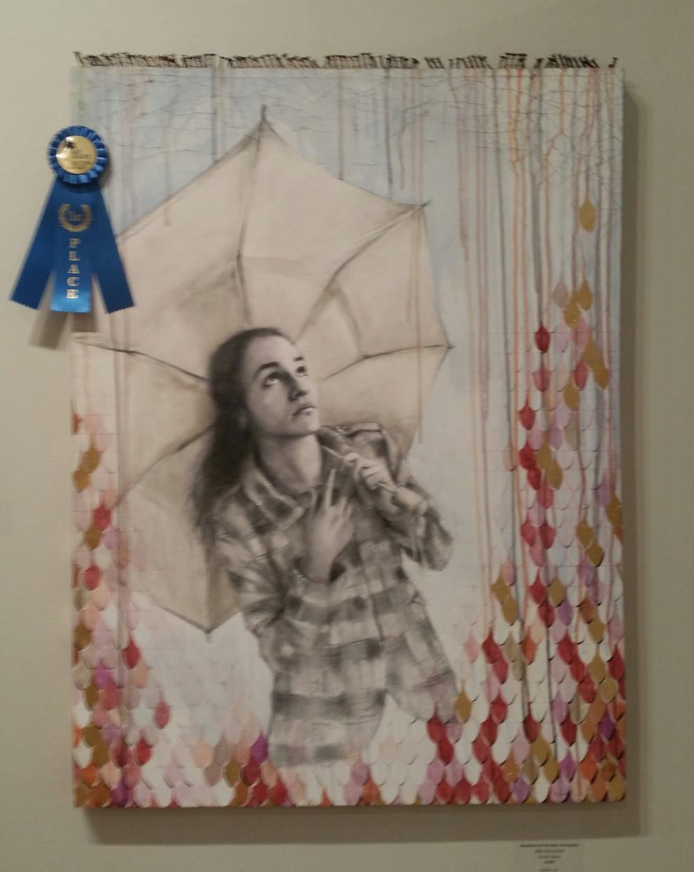 """1st Price.   """"Margarita and the rain of prejudices"""" by Aldo Muzzarelli"""