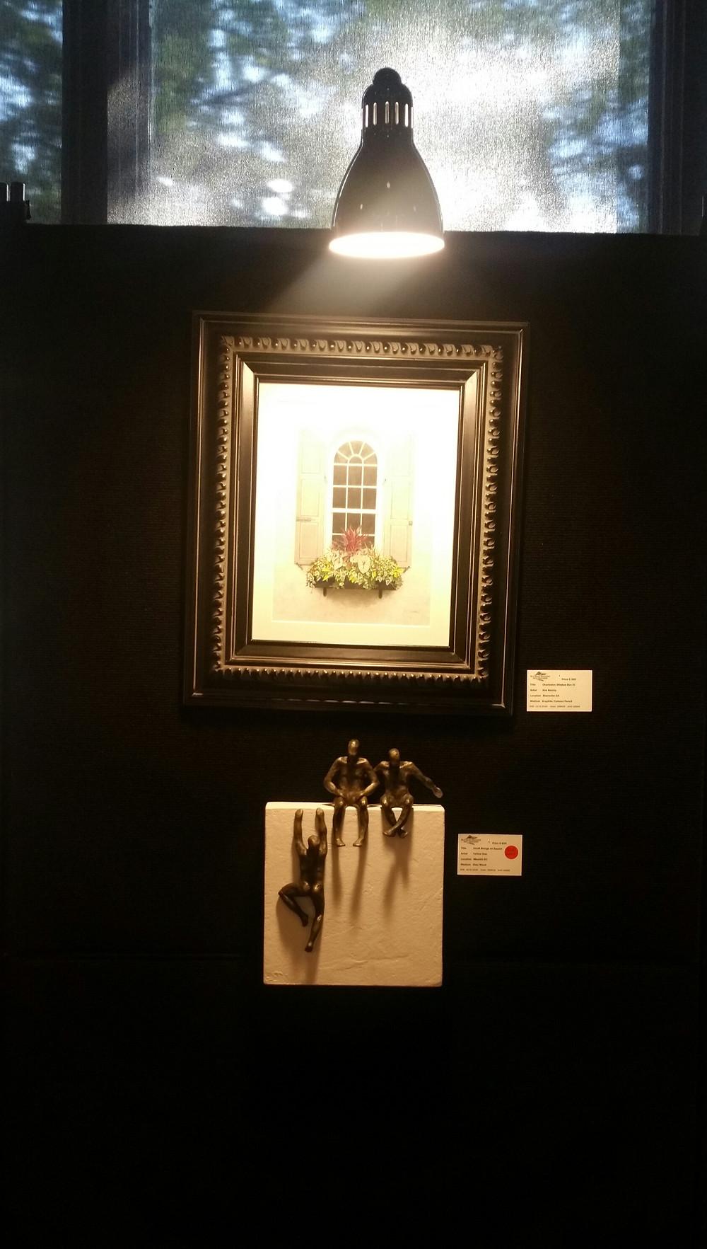 """""""Charleston Window Box III"""" by Kim Hamby, and Yelitza Diaz."""