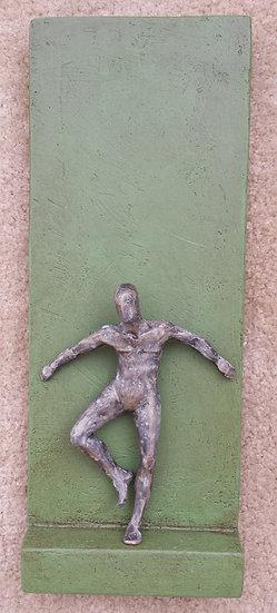 Individual on green (C-13)