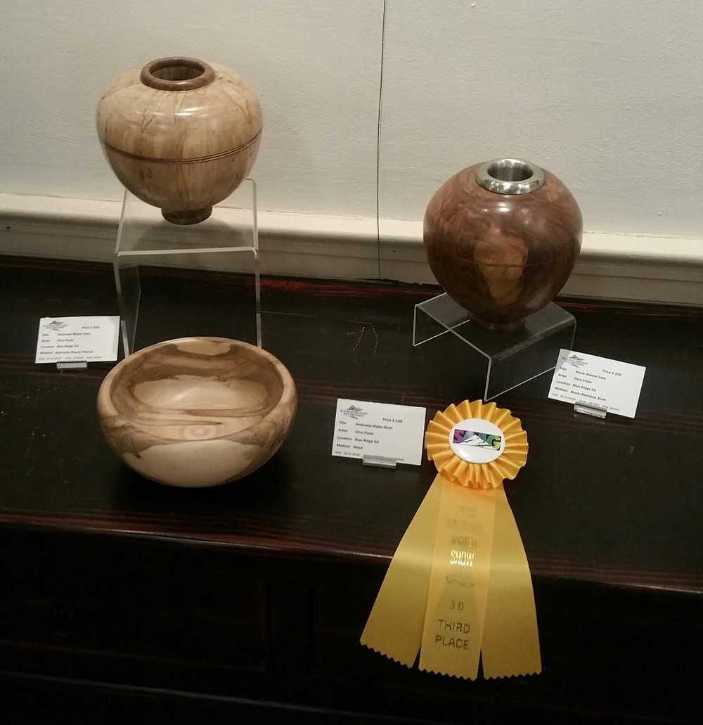 """""""Ambrosia Maple Vase"""" by Clive Poole"""