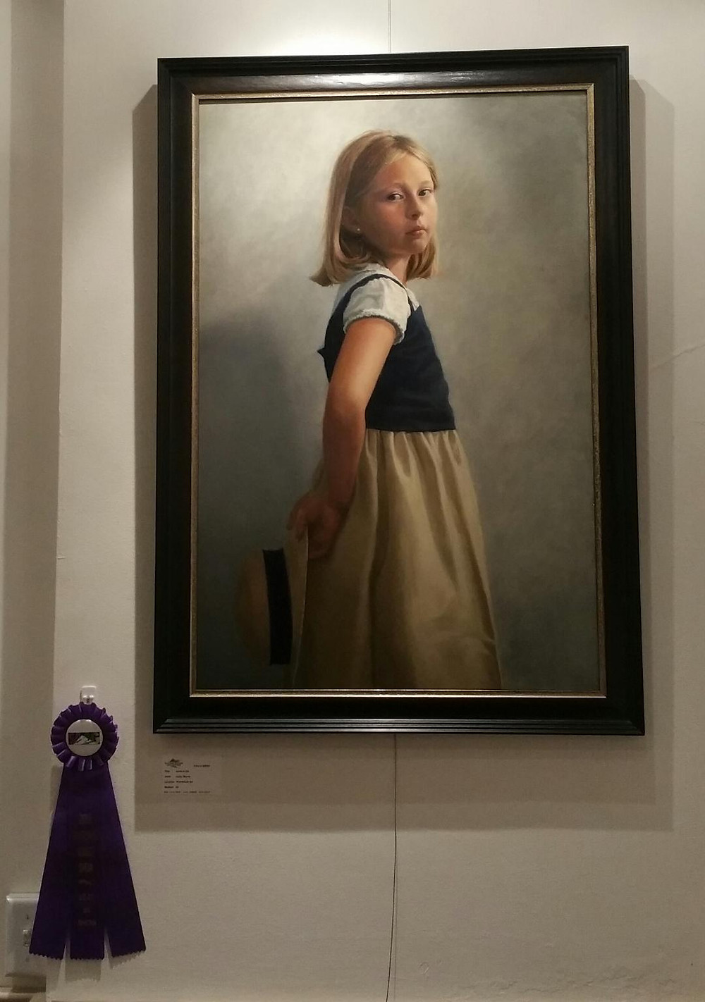"""""""Good to me"""" by Kathy Morris. Best in Show."""