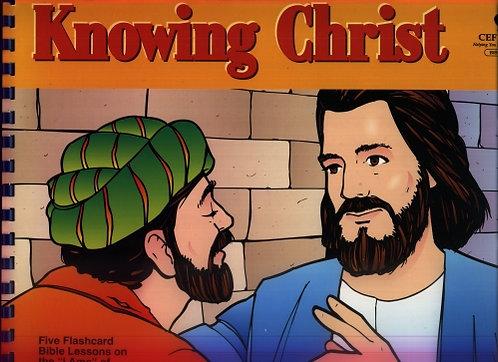 Poznanie Chrystusa- wersja czarno-biała