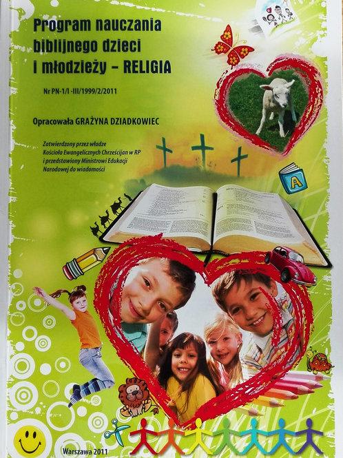 Program nauczania biblijnego dzieci i młodzieży - religia