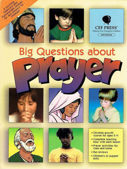 Wielkie pytania dotyczące modlitwy - flanelograf