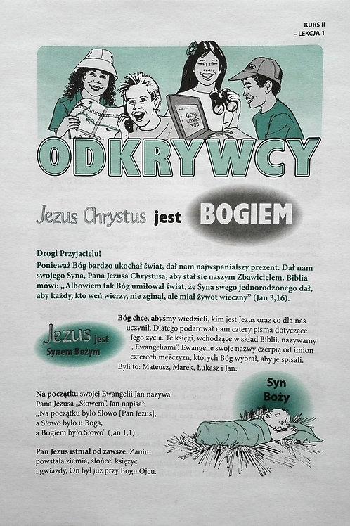 Korespondencyjny Kurs Biblijny Odkrywcy cz.2