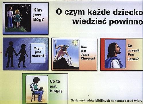 O czym każde dziecko wiedzieć powinno?