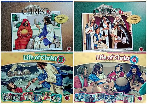 Życie Jezusa zestaw 4 części bez tekstów