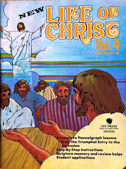 Życie Jezusa cz 4 - flanelograf bez tekstu