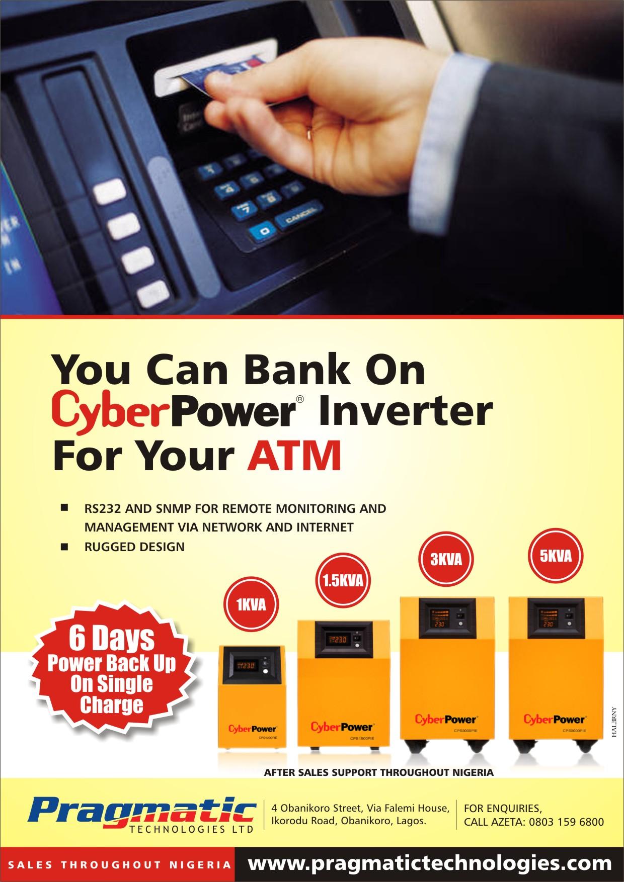 Pragmatic Tech - Cyberpower Inverter
