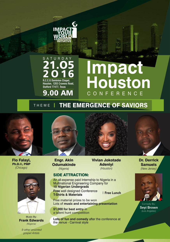 """IYWLI - """"IMPACT Houston Conference"""