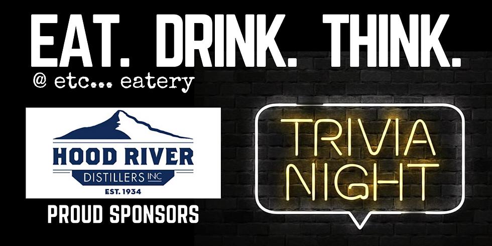 Trivia w/ Hood River Distillers