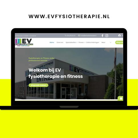 Website EV Fysiotherapie