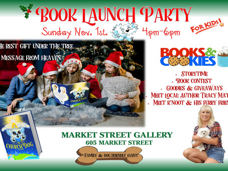 Jesus is the Reason for the Season -November 1st Church Dog Book Launch just in time for Christmas