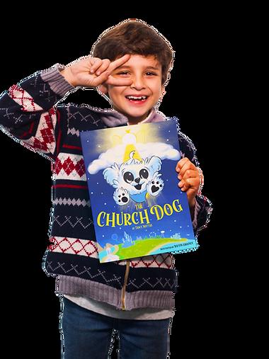 boy reading church dog.png