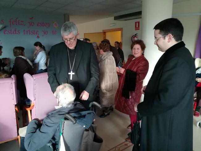 Visita del Arzobispo de Toledo D. Braulio Rodríguez Plaza