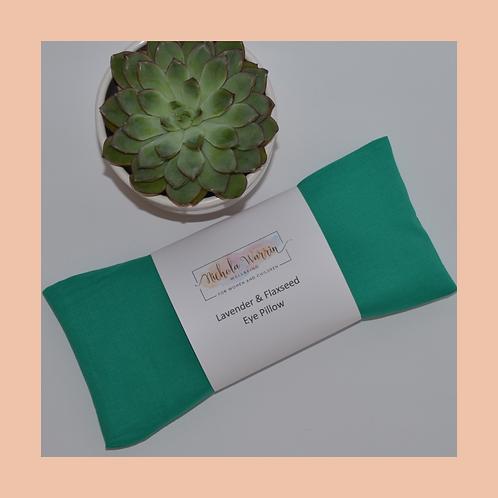 Eye Pillow - Jade Green