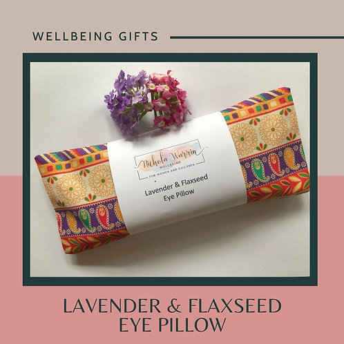Lavender & Flaxseed Eye Pillow