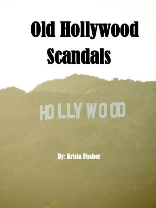Old Hollywood Scandals Activity Booklet